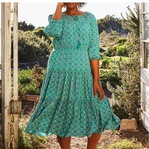 Ladies Matilda Jane Age Aquarius Peasant Dress XL